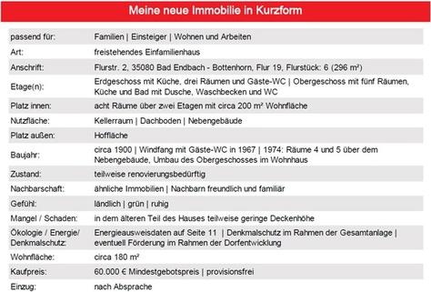 Kurzinfo ++ Jede Menge Platz innen ++ Vermietung möglich ++ Hof ++ Lager ++ provisionsfrei gegen Gebot ++
