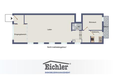 Grundriss Direkt an der B304 - Eglharting - Büro- oder Praxisfläche in bester Lage