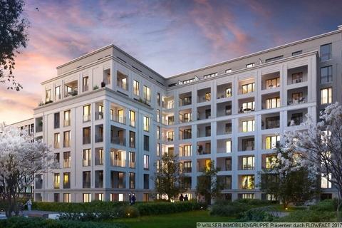 Innenhof bei Nacht Wohnkultur mit Lebensstil – großzügige 3-Zimmer-Wohnung mit 2 Bädern in Bogenhausen