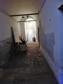 Treppenhaus Wohnen in historischen Mauern