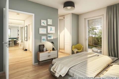 Beispielschlafzimmer Kompakte schnittige 2-Zimmer-Wohnung mit Loggia
