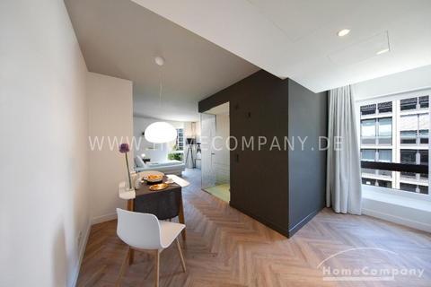 Wohnbereich Tolles möbliertes Apartment in der Parkstadt Schwabing