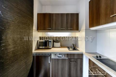 Küche Hochwertig möbliertes Apartment in München-Bogenhausen