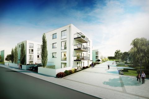 Ansicht Stadthäuser Erstbezug - Großzügige Wohnung im 1.OG mit Südbalkon