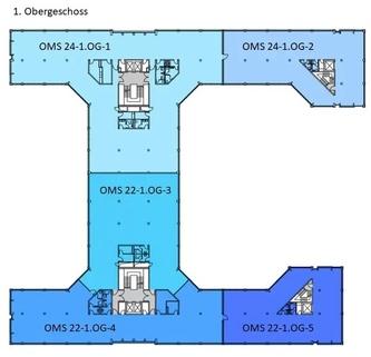 Grundriss 1 OG Ansprechendes Bürohaus ... Moderne Ausstattung