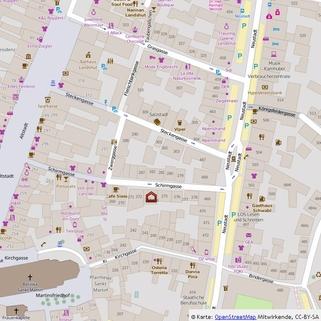 Mikro-Ansicht Beste Lauflage zur Altstadt !, Laden-/Büroeinheit  in der Schirmgasse, ca. 72 qm, provisionsfrei