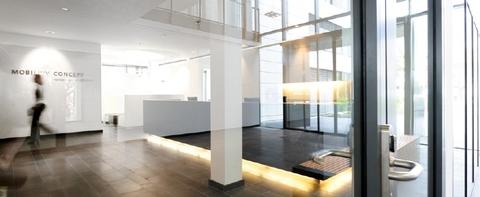 Innenbereich_Foyer STOCK - Hochwertige Büroflächen in Oberhaching