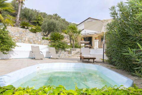 Jacuzzi Luxuriöse Villa mit herrlichem Meerblick