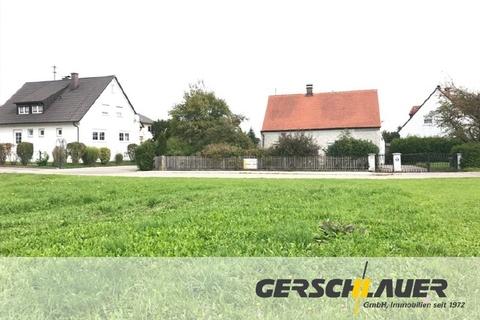 Grundstücksansicht und Nachberschaft Sonniges gut bebaubares Südwestgrundstück, fußläufig zur S-Bahn, Markt-Indersdorf-Niederroth
