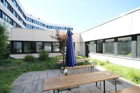 Gartenbereich STOCK - Büroflächen mit Hofgarten