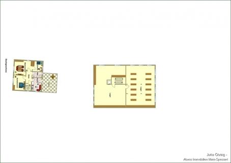 DG Wohn- und Geschäftshaus mit Laden - und Lagerflächen auf 2 Etagen mit zusätzlichen Garagen!