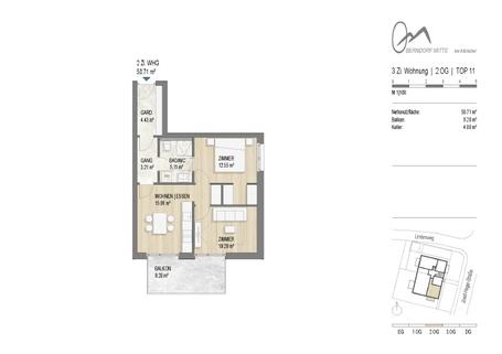 180905_IMGA_240_OM - OG2- TOP11 TOP 11: 3-Zimmer-Wohnung im 2.OG - WWW.OBERNDORFMITTE.AT