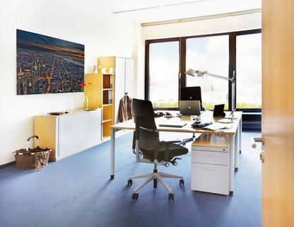 Büro 2 Personen Repräsentatives Bürogebäude in der Leopoldstraße, Büroräume von 14 m² bis 10800 m²