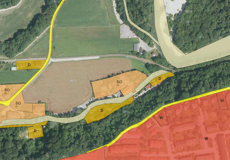 Christkindl-Widmung Freizeitgrundstück Steyr/Christkindl  in Hochwassergefahrenzone