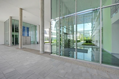 Empfangsbereich STOCK - PROVISIONSFREI - Sensationelle Büroflächen in Unterföhring