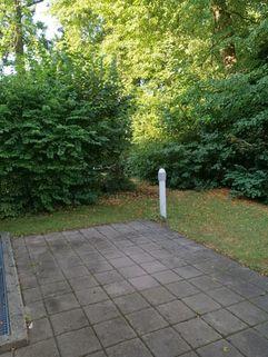 Terrasse Maisonettewohnung mit Gartenanteil, Terrasse, Balkon u. TG-Stellplatz in ruhiger Lage, Obermenzing