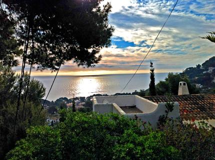 Blick vom Grundstück Mallorca, Costa Canyamel, Baugrundstück mit Traumblick auf die Bucht