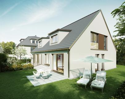 Illustration - Änderungen vorbehalten Neubau - EG-Wohnung mit Westterrasse
