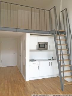 Galerie mit Treppe Tolles Galerie-Apartment im STUDIOSUS 5 *** Für Studis + Azubis