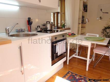 Bild 3 FLATHOPPER.de - Charmante, neu renovierte und ruhige 2-Zimmer- Wohnung mit Sonnenterrasse im Vorgar