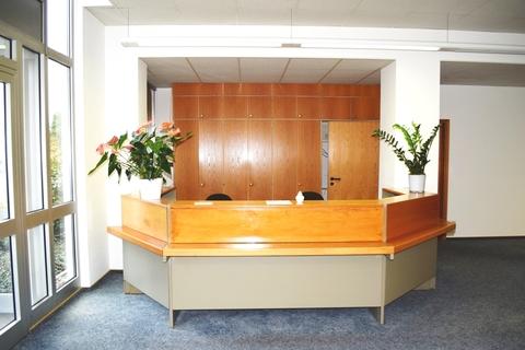 Empfang Vielseitig nutzbares Gewerbeanwesen für Büro-/Verwaltung, Produktion oder Lagerhaltung!