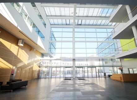 Hauptfoyer STOCK - architektonisches Highlight
