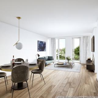 Apartment Großzügige Galeriewohnung mit sonniger Dachterrasse im Zentrum Pasings