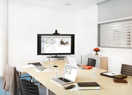 Videokonferenz Repräsentatives Bürogebäude in der Leopoldstraße, Büroflächen teilbar ab 14 m²