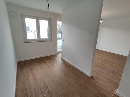 Schlafen Erstbezug: 1,5-Zi-Wohnung 1. OG, Balkon + Marken-Einbauküche!