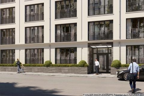 Eingangsbereich ERSTBEZUG IN BOGENHAUSEN: Ruhige, sonnige Innenhoflage, 5. OG., S/W-Balkon, geplanter Bezug 12/2018