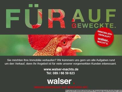 Walser fuer aufgeweckte Gut geschnittene, schöne 3-Zimmer-Wohnung im 5. und somit im obersten Stockwerk