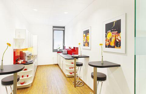 Küche Repräsentative Immobilie und voll ausgestattete Büros mit Service
