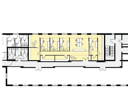 Variante Typ B flexibel - innovativ - Ordination, Zellen- oder Großraumbüro!