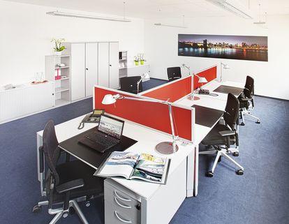Teambüro 5 Personen Repräsentative Büros ab 14 m² in der neuen Messestadt