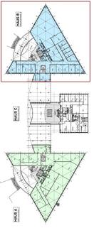 Grundriss Basisgeschoss Repräsentativ und umgeben von viel Grün