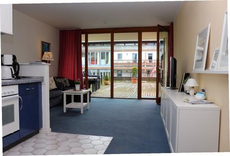 Wohnung mit Terrasse Die beste Ferienwohnung, die wir in Kühlungsborn Ost zu bieten haben.