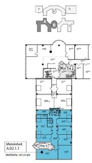 Grundriss 2 OG A0211 341 qm Individuelle und moderne Büros ... Für jeden Geschmack das Richtige