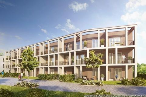 Außenansicht mit traumhaften Balkonen Wunderschöne 2-Zimmerwohnung im begehrten Obergeschoss - Bezug bereits Ende 2018!!
