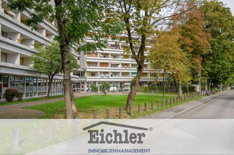 Umgebung Vermietetes Apartment mit Westbalkon in Forstenried