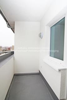 Balkon AnKaSa Immobilien*TIPP: Modern möbliertes Cityappartment, EBK, schickes Bad im Stadtzentrum Leipzig!