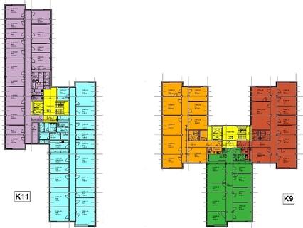 Grundriss 9-11 2 OG Attraktive Büros zum fairen Mietpreis
