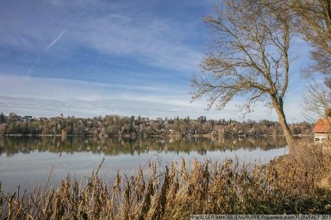 Pilsensee WALSER: Traumhaftes Baugrundstück mit Altbestand im Fünf-Seen-Land
