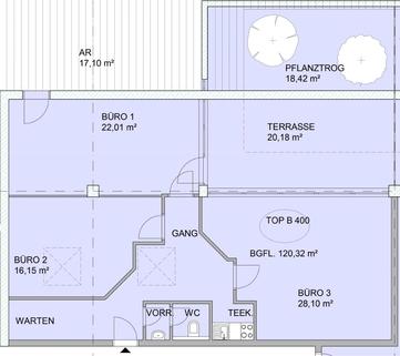 Top B400 Gewerbepark Wilten - Top B400