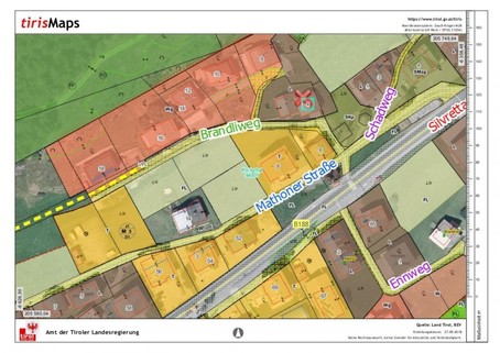 örtliche Raumordnung Baurecht Grundstück mit Altbestand im beliebesten Schigebiet