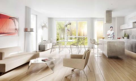 Illustration 3,5-Zimmer-Wohnung in Kirchtrudering - Neubau!