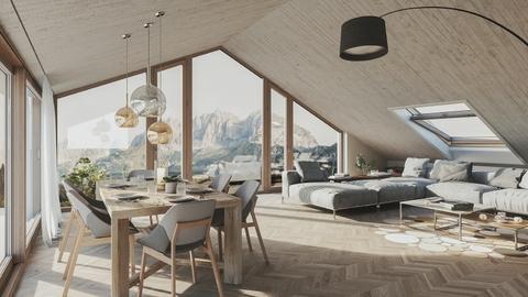 180320_OM_Dachgeschoss_Rendering_Cam_01_Final_b431 TOP 16: Penthouse-Maisonette-Wohnung im DG und 3.OG
