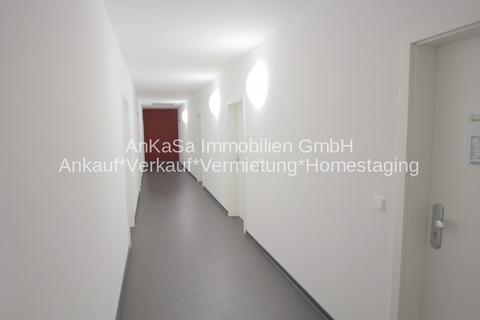 Aufgang AnKaSa Immobilien*TIPP: Modern möbliertes Cityappartment, EBK, schickes Bad im Stadtzentrum Leipzig!