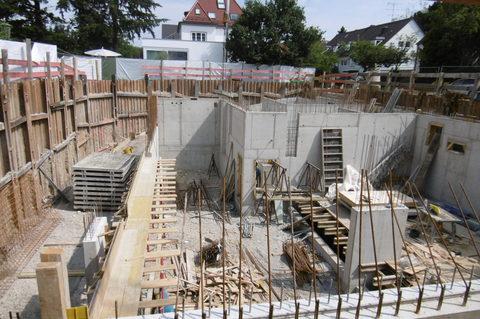 Aktueller Bautenstand Neubau! Schöne Erdgeschosswohnung im Projekt Residenz Westpark! Baustart Frühjahr 2018.