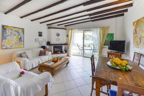 Livingroom Villa mit Meerblick