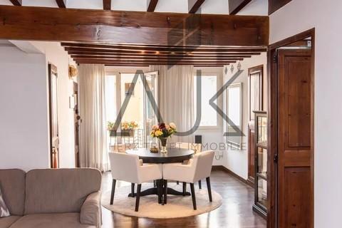 ps03085--Altbauflair Trend Zweitwohnsitz: Charmantes Penthouse mit privater Dachterrasse in der Altstadt von Palma